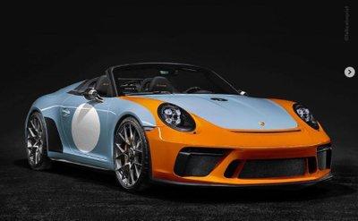 Porsche 911 Speedster thêm màu sơn mới, chuẩn bị sản xuất thương mại 9