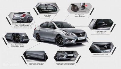Bản đặc biệt Nissan Sunny Black Series 390 triệu trình làng - 2