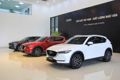 Mazda CX-5 bổ sung 3 màu mới