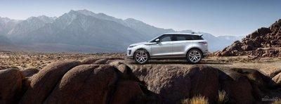Range Rover Evoque 2020.