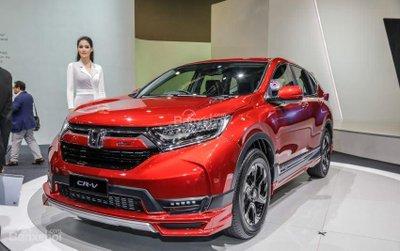Honda CR-V Mugen concept ra mắt triển lãm ô tô Kuala Lumpur  2018..