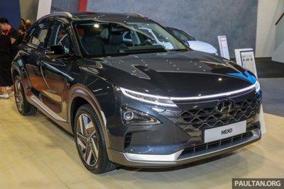 Cận cảnh mẫu xe chạy nhiên liệu hydro Hyundai Nexo tại lễ ra mắt a1