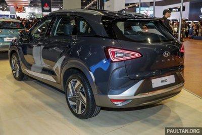 Cận cảnh mẫu xe chạy nhiên liệu hydro Hyundai Nexo tại lễ ra mắt a12