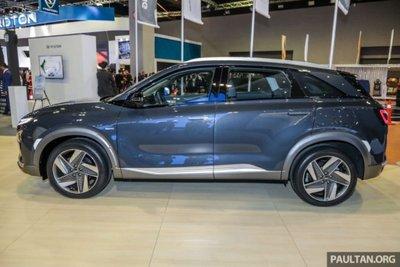Cận cảnh mẫu xe chạy nhiên liệu hydro Hyundai Nexo tại lễ ra mắt a2
