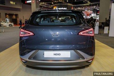 Cận cảnh mẫu xe chạy nhiên liệu hydro Hyundai Nexo tại lễ ra mắt a3