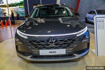 Cận cảnh mẫu xe chạy nhiên liệu hydro Hyundai Nexo tại lễ ra mắt a11