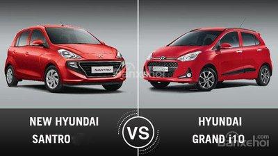 So sánh Hyundai Grand i10 và Hyundai Santro - Đâu là xe cỡ nhỏ giá rẻ cho khách Việt