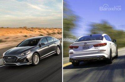 So sánh Kia Optima và Hyundai Sonata 2019 về trải nghiệm lái.