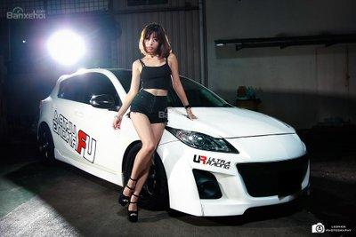 Mazda 3 Hatchback hầm hố cùng thiên thần thơ ngây - 8
