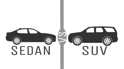 Ưu thế SUV, Crossover và Pickup vẫn mạnh hơn sedan tại Mỹ.