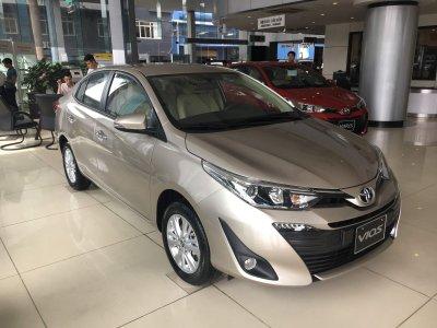 Số tiền trả hàng tháng khi vay mua Toyota Vios 2019 trả góp ...