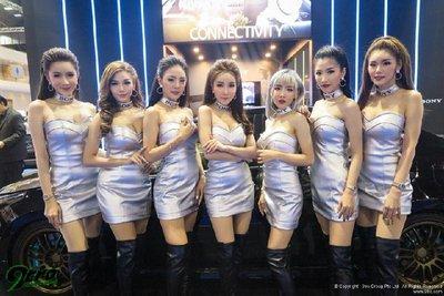 Triển lãm xe ô tô Thái Lan ''''''''nóng'''''''' hơn nhờ dàn người mẫu xinh đẹp 2.