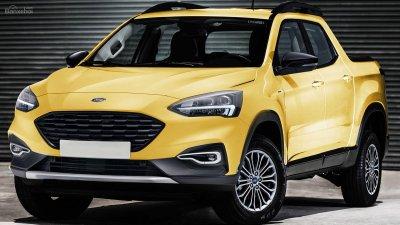 """Ford Focus sắp có bán tải """"đàn em"""" mới - 1"""