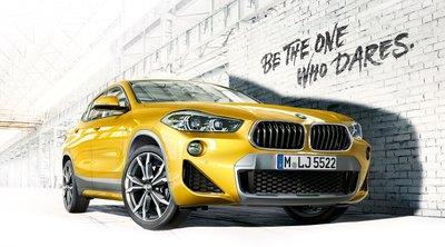 BMW X2 màu vàng phiên bản 2019 tại Việt Nam...