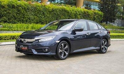 Giá xe Honda Civic 2019 mới nhất tại Việt Nam...