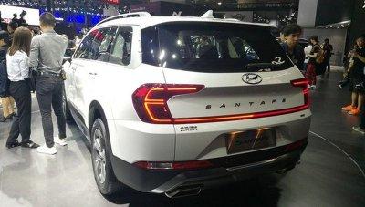 """Ngắm Hyundai Santa Fe 2019 bản dành cho thị trường Trung Quốc, """"quá chất""""! a4"""