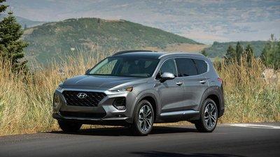 Hyundai Santa Fe 2019 màu đen
