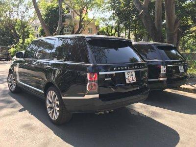Range Rover LWB Autobiography mới tậu của Minh Nhựa đã ra biển trắng a1