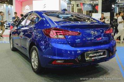 Hyundai Elantra 2019 xuất hiện sớm tại Singapore