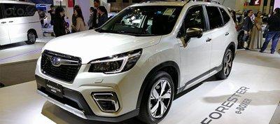 Subaru Forester e-Boxer 2019 ra mắt ASEAN