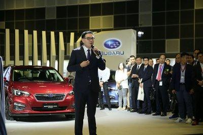 Subaru Forester Hybrid trình làng tại Singapore Motorshow 2019 a3