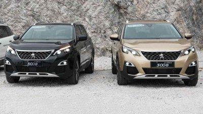 Peugeot 3008 và 5008 phiên bản 2018...