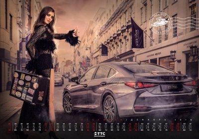 Dàn người mẫu Nga gợi cảm khó cưỡng trong bộ lịch chào 2019 12.