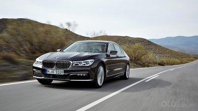 BMW 7-Series màu đen phiên bản 2019...
