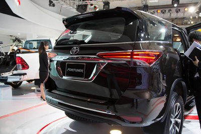 Giá xe Toyota Fortuner mới nhất trên thị trường.
