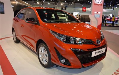 Giá xe Toyota Yaris mới nhất trên thị trường.