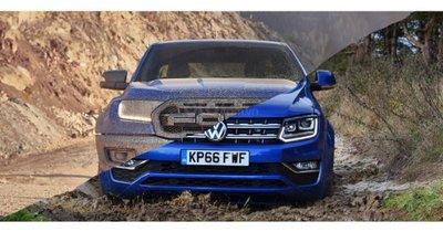 Ford và Volkswagen cùng nhau chế bán tải mới