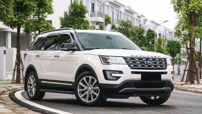 Giá lăn bánh xe Ford Explorer sau khi tăng gần 100 triệu đồng a1