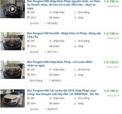 Đại lý giảm giá Peugeot 508 hơn 100 triệu đồng, chuẩn bị đón thế hệ mới tại Việt Nam a2