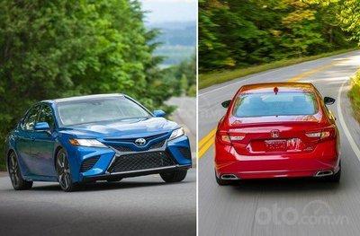 Toyota Camry vs Honda Accord.
