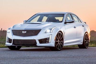 Cadillac CTS-V 2019 màu trắng