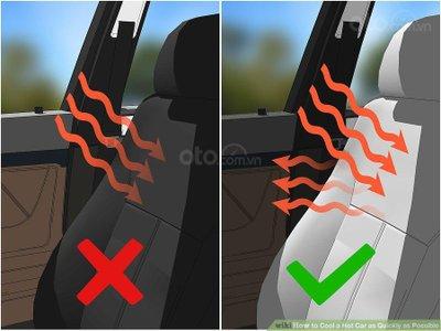 3 mẹo hạ nhiệt ô tô cấp tốc, đối phó cái nóng mùa hè - bảo vệ nội thất, chống thu nhiệt