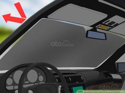 3 mẹo hạ nhiệt ô tô cấp tốc, đối phó cái nóng mùa hè - Dùng tấm bạc che cửa sổ