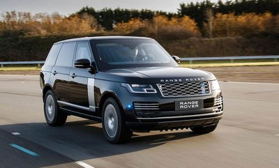 Range Rover Sentinel SVO chống đạn chuẩn bị ra mắt