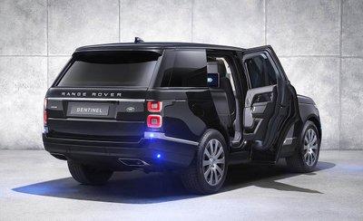 Range Rover Sentinel SVO chống đạn chuẩn bị ra mắt100vf