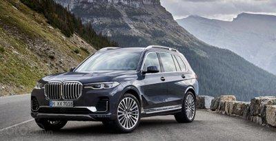 BMW X7 2019 góc 3/4
