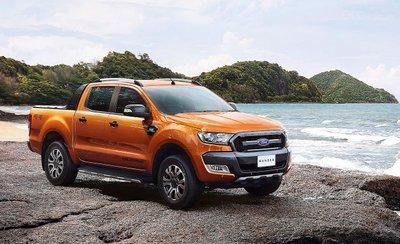 Ford Ranger 2019 màu cam...