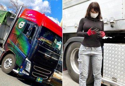 Ngất ngây ngắm nữ tài xế nóng bỏng nhất Nhật Bản - Ảnh 7.
