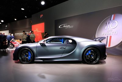 Hình ảnh mẫu Siêu xe Bugatti Chiron Sport tại Geneva 2019 - 3