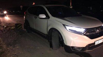 Honda CR-V 7 chỗ trong vụ tai nạn mới nhất ngày 15/11/2018 a1
