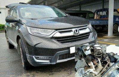 Honda CR-V 7 chỗ từng dính lùm xùm về tình trạng gỉ sét a1