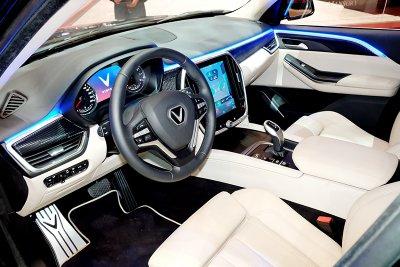 Nội thất xe VinFast LUX A8 - Geneva 2019