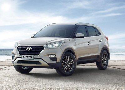 Hyundai Creta 2019 facelift.