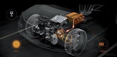 Công nghệ động cơ E-Power trên ô tô Nissan.