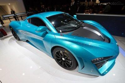 [Geneva 2019] BAIC ArcFox GT bản Track Edition siêu mạnh