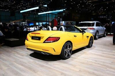 Hình ảnh Mercedes-Benz SLC Final Edition tại Geneva 2019 - 2